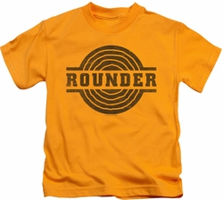 Concord Music kids t-shirt Rounder Distress gold