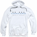Concord Music pull-over hoodie Logo adult white
