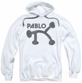 Concord Music pull-over hoodie Retro Pablo adult white