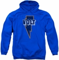 Concord Music pull-over hoodie Volt Logo adult royal blue
