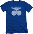 Concord Music slim-fit t-shirt Bluesville Distress mens royal blue