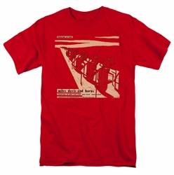Concord Music t-shirt Miles Davis And Horn mens red