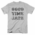 Concord Music t-shirt Good Time Jazz Vintage mens silver