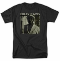 Miles Davis t-shirt Miles Portrait mens black
