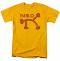 Concord Music t-shirt Pablo Distress mens gold