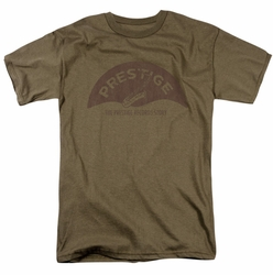 Concord Music t-shirt Prestige Vintage mens safari green