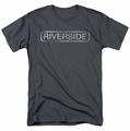 Concord Music t-shirt Riverside Distressed mens charcoal