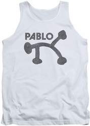 Concord Music tank top Retro Pablo mens white