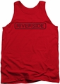 Concord Music tank top Riverside Vintage mens red
