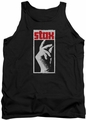 Concord Music tank top Stax Distressed mens black