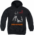 Concord Music youth teen hoodie Coltrane black