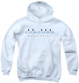 Concord Music youth teen hoodie Concord Logo white