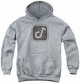 Concord Music youth teen hoodie Concord Symbol athletic heather