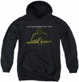 Concord Music youth teen hoodie Mellow Yello black