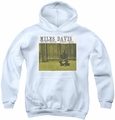 Concord Music youth teen hoodie Miles And Milt white