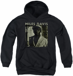 Concord Music youth teen hoodie Miles Portrait black