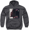 Thelonious Monk youth teen hoodie Monterey charcoal