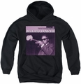 Miles Davis youth teen hoodie Prince black