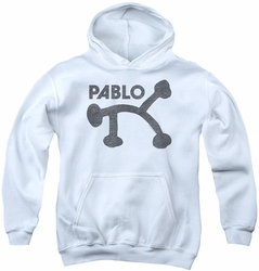 Concord Music youth teen hoodie Retro Pablo white