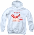 Concord Music youth teen hoodie The New Sounds white