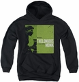 Thelonious Monk youth teen hoodie Work black