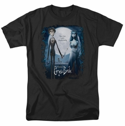 Corpse Bride Poster mens t-shirt