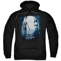 Corpse Bride pull-over hoodie Poster adult black