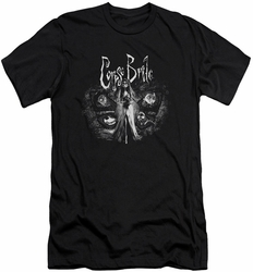Corpse Bride slim-fit t-shirt Bride To Be mens black