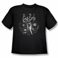 Corpse Bride youth teen t-shirt Bride To Be black