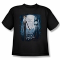 Corpse Bride youth teen t-shirt Poster black