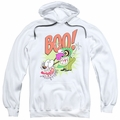 Courage the Cowardly Dog pull-over hoodie Stupid Dog adult white