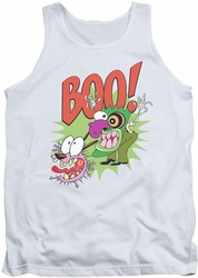 Courage The Cowardly Dog tank top Stupid Dog mens white