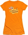 Cow & Chicken juniors t-shirt Logo orange