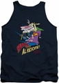 Cow & Chicken tank top Super Cow mens navy