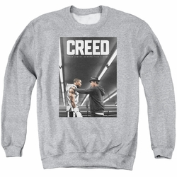 Creed adult crewneck sweatshirt Poster athletic heather