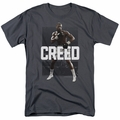 Creed Movie t-shirt Final Round mens charcoal