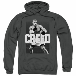 Creed pull-over hoodie Final Round adult charcoal