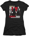 Criminal Minds juniors t-shirt Guns Drawn black