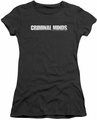 Criminal Minds juniors t-shirt Logo black