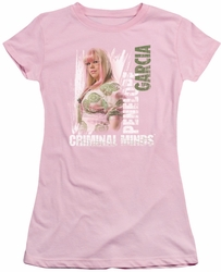Criminal Minds juniors t-shirt Penelope pink