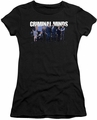 Criminal Minds juniors t-shirt Season 10 Cast black