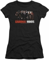 Criminal Minds juniors t-shirt The Brain Trust black