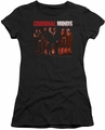 Criminal Minds juniors t-shirt The Crew black
