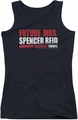 Criminal Minds juniors tank top Future Bride black