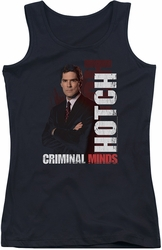 Criminal Minds juniors tank top Hotch black