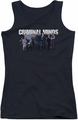 Criminal Minds juniors tank top Season 10 Cast black