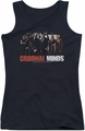 Criminal Minds juniors tank top The Brain Trust black