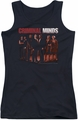 Criminal Minds juniors tank top The Crew black