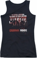 Criminal Minds juniors tank top Think Like One black