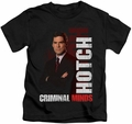Criminal Minds kids t-shirt Hotch black
